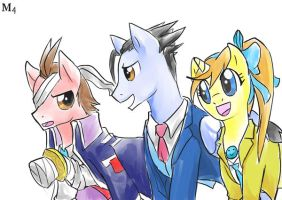 Quicker Draw: Save the Court of Equestria! by Marini4