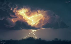 Thunder by Niruja