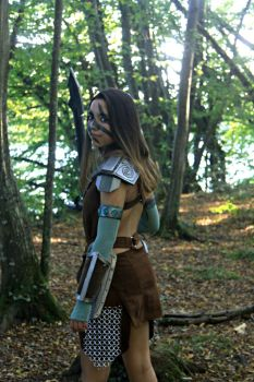 Aela the Huntress (2) by beopower