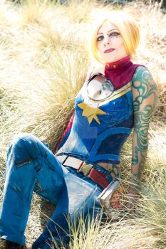 Captain Marvel Maya 2 by coolbyproxy