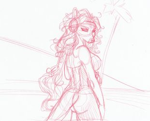 Preview of Ships to Come - Mina the Pirate returns by frisket17