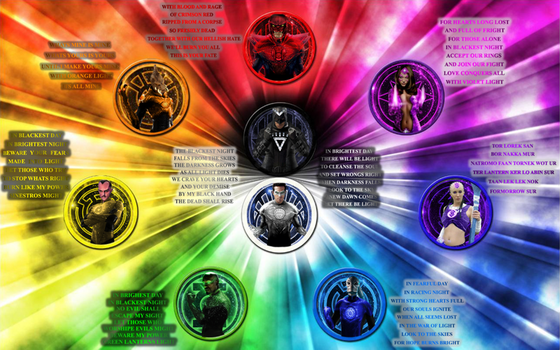 The Lantern Corps! by Camo-Flauge