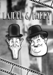 Laurel and Hardy Music Box by panicfaceproductions