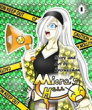 The Queen of Cringe: Miora's Hell, Volume 1 Cover by Zecrus-chan