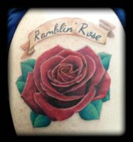 Rose by state-of-art-tattoo