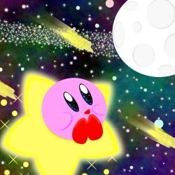 Kirby of the stars by katpichu