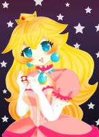 Princess Peach by rinadon