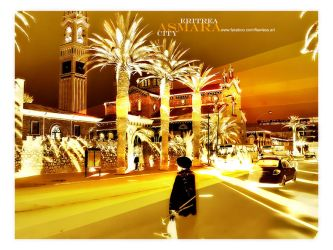 the golden city ASMARA by M-AlJabarty