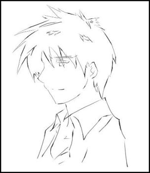 Lineart Attempt: Roy Mustang by manifest3r