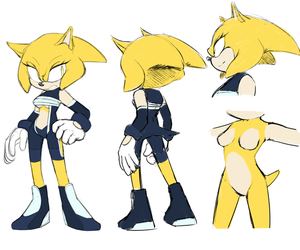Ain The Hedgehog Reference by Un-Genesis