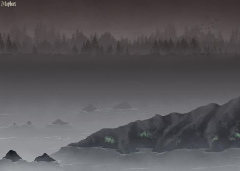Background practice by Zelaphas