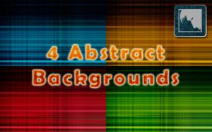 4 Abstract Backgrounds by MrHighsky