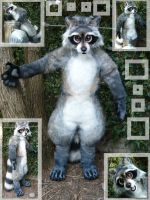 coon suit by LilleahWest