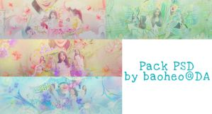 #Pack share PSD5 - by baoheo by baoheo