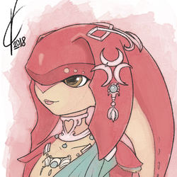 Mipha by Dreatos