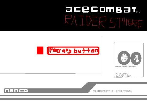 Ace Combat Raidersphere PC Title Screen by bryankam04