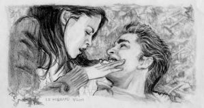 Bella Edward 'Want A Taste?' by Catluckey