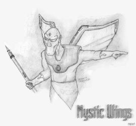 Mystic Wings by vervain