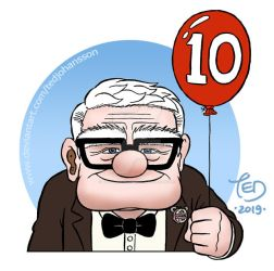 The 10th anniversary of Pixar's UP