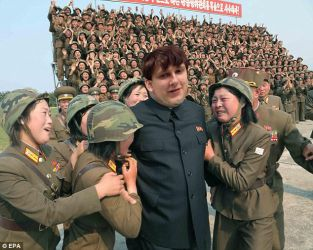Kim Jong Unger 1 by A-UNG
