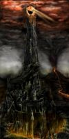 Tower of Barad Dur by Marko1991