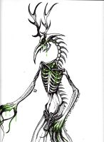 Wendigo green by cross-the-swirl