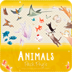 Pack Png's #2 Animals by ZttaR