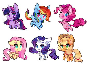 little horse babies by pekou