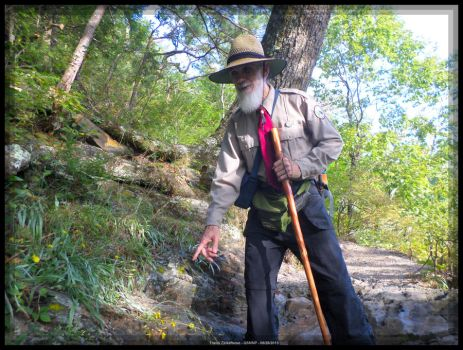 Ranger Ricardo on Buckeye Trail 14 by slowdog294