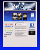 Mon premier Webdesign by Taiki-graphiste
