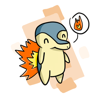 Cyndaquil by manuee