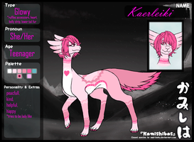 [Reference sheet: Kaerleiki Teenager] by Finding-The-Key
