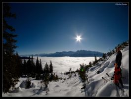 Freeskiing by stetre76