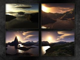 Landscapes by Araen