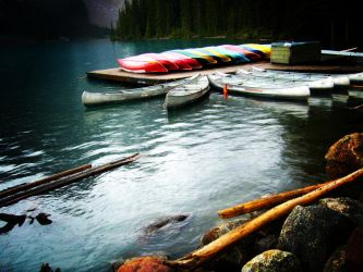 Canoes by bbisme