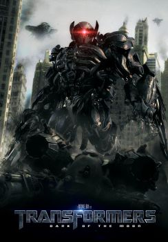 Transformers DOTM poster: Shockwave by UntamableBeast