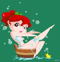 Bathing by mashi