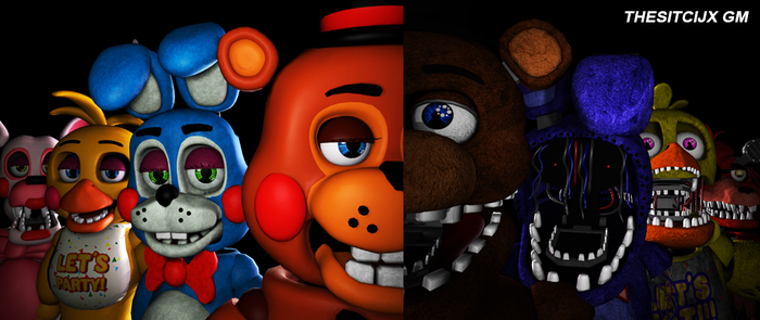 |SFM FNAF| Beta New And Withered (404+ Watchers!) by TheSitciXD