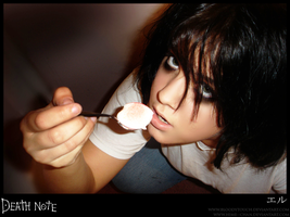 Cosplay- Deathnote Sweets by BloodyTouch