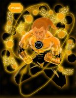 Norman Osborn: Orange Lantern by JerryLSchick