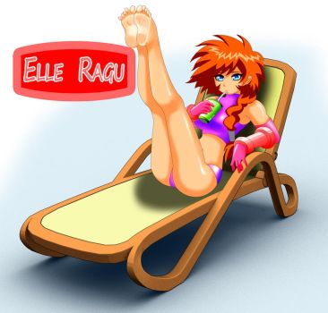 Elle Ragu Relaxing by hofit-mil