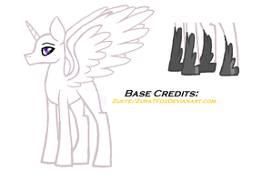 MLP Base Alicorn boy C: by ZuraTFox