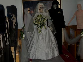the grim reaper wedding by ritaflowers