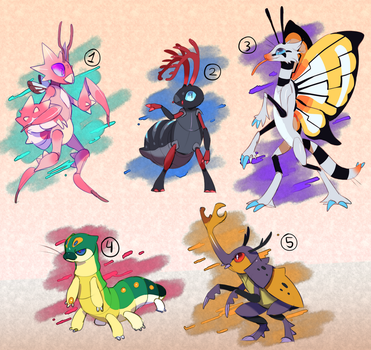 Buggos for sale+art: CLOSED by Pand-ASS