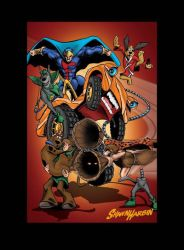 Captain Caveman Scooby-Doo Speed Buggy  by DungeonMassacre