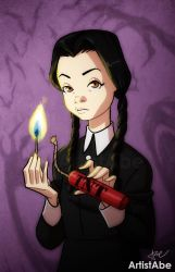 Wednesday Addams by ArtistAbe