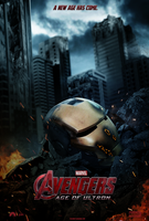 Avengers: Age of Ultron Movie Poster - Iron Man by tyler-wetta