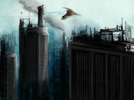 City by Pozofall