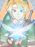 Link and Navi by Tanuks