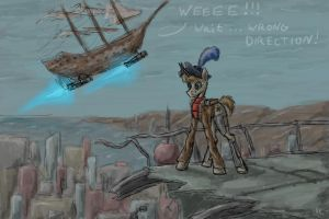 On top of the Wasteland by InkREDspot